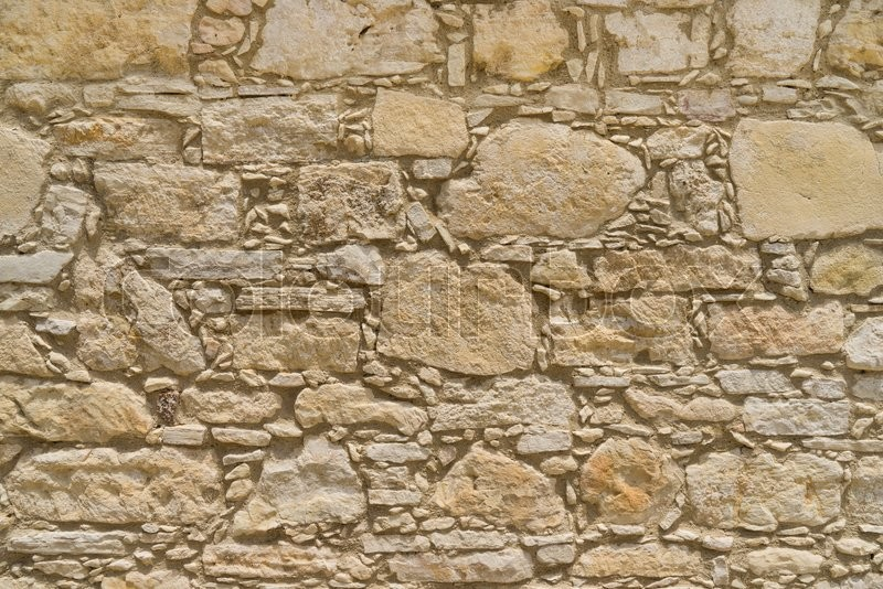 Rustic Coquina Stone Wall Texture Or Background Large Resolution