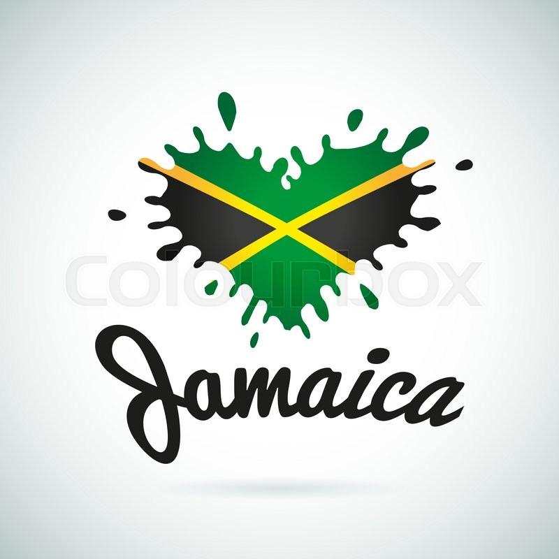 love jamaica lettering heart illustration  carribean music free carnival clip art borders free free carnival clip art borders free
