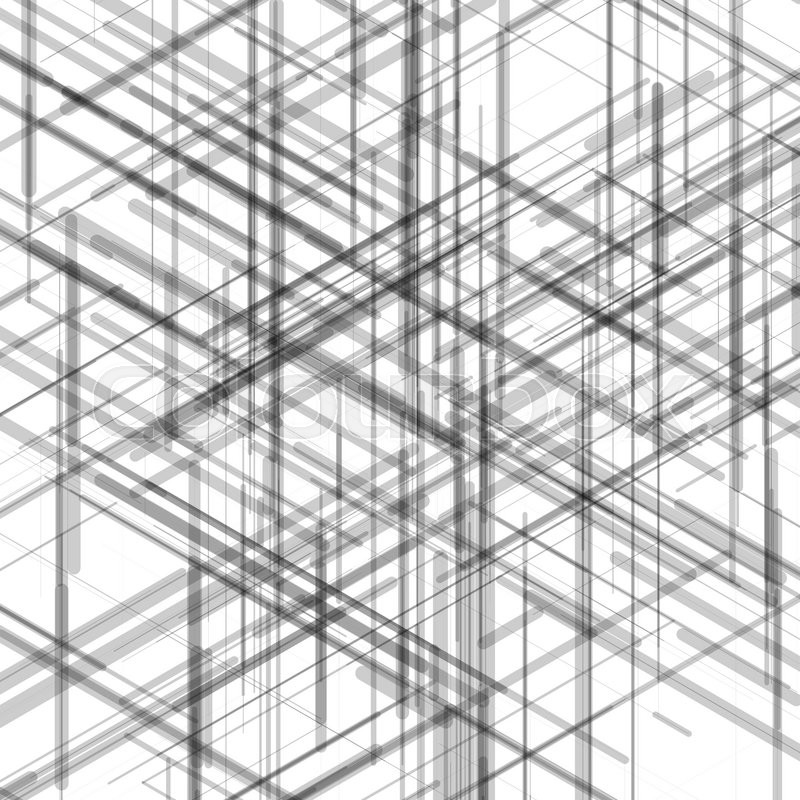 Abstract isometric computer generated 3d blueprint visualization abstract isometric computer generated 3d blueprint visualization lines background vector illustration for break through in technology malvernweather Choice Image