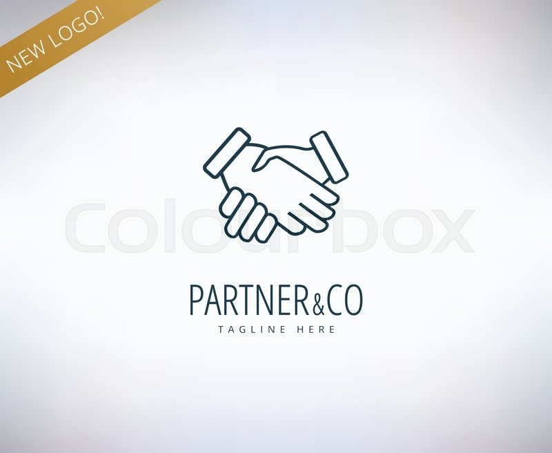 Human hands vector logo icon      | Stock vector | Colourbox