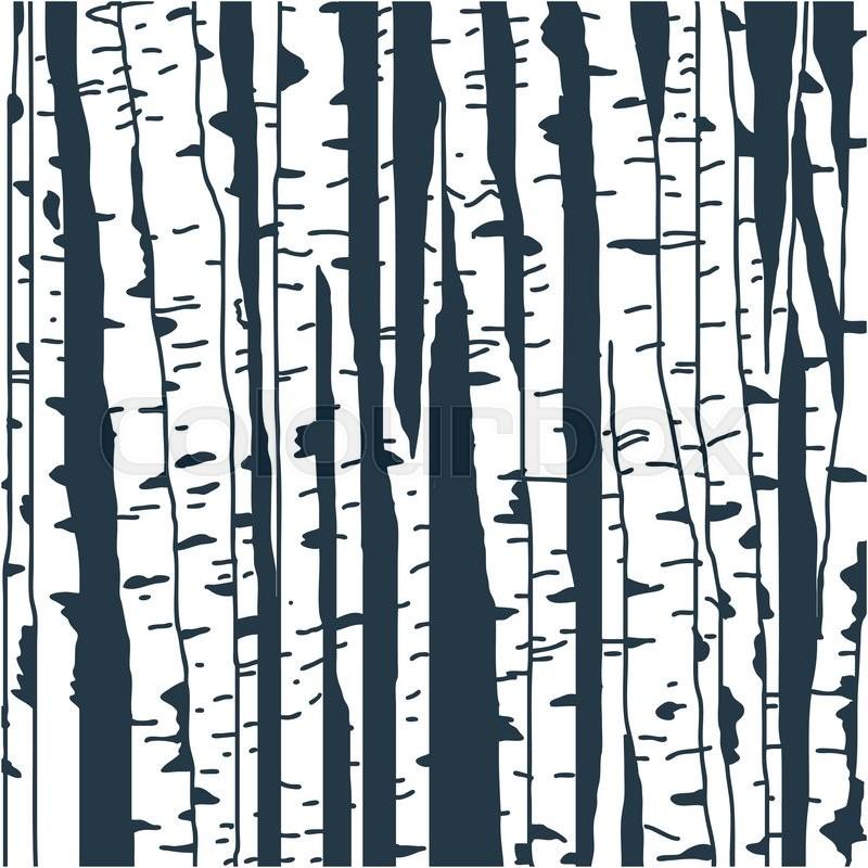 Tree bark stencil