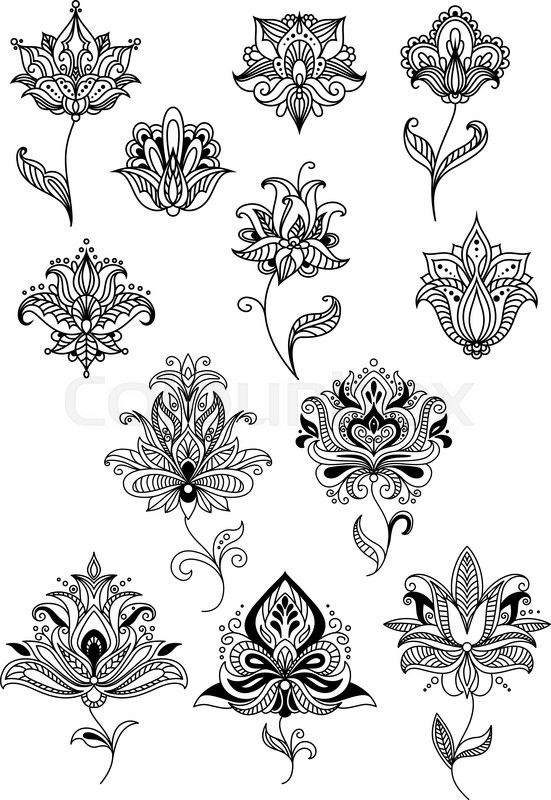 Persian Flower Flowers Ideas For Review