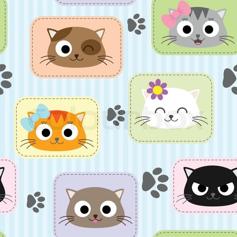 Шаблон с кошками