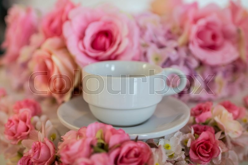 Stock image of 'Coffee cup'