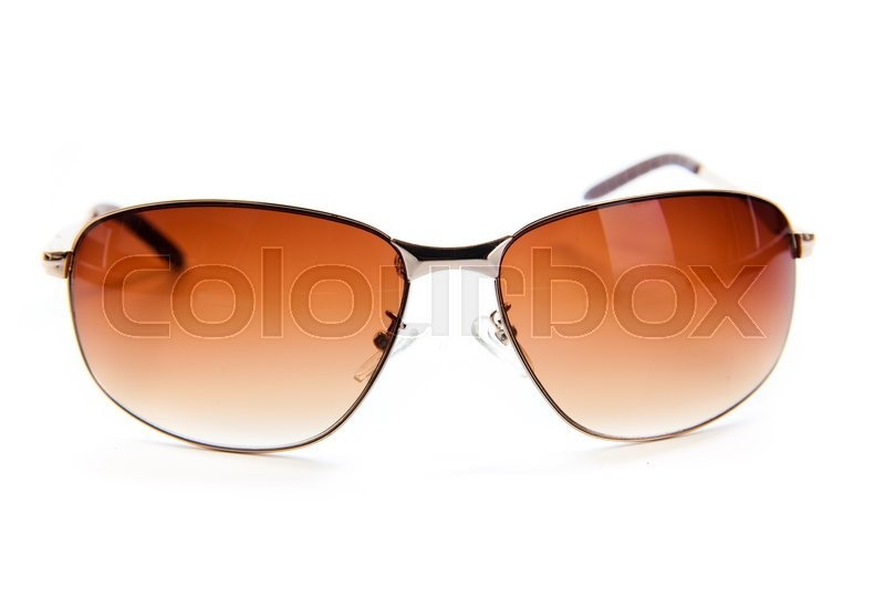 Stock image of 'Sunglasses isolated on the white background'