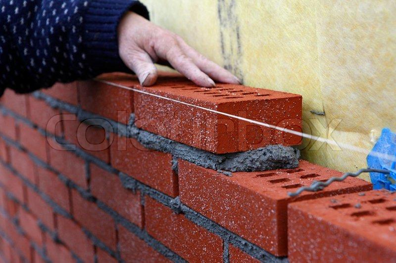 Brick Layer Building Wall