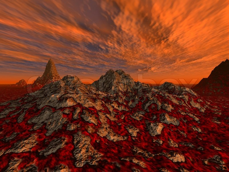 Rough surface with streams of a lava a hell a surface of mars rough surface with streams of a lava a hell a surface of mars on a background very red a drama decline stock photo colourbox voltagebd Choice Image