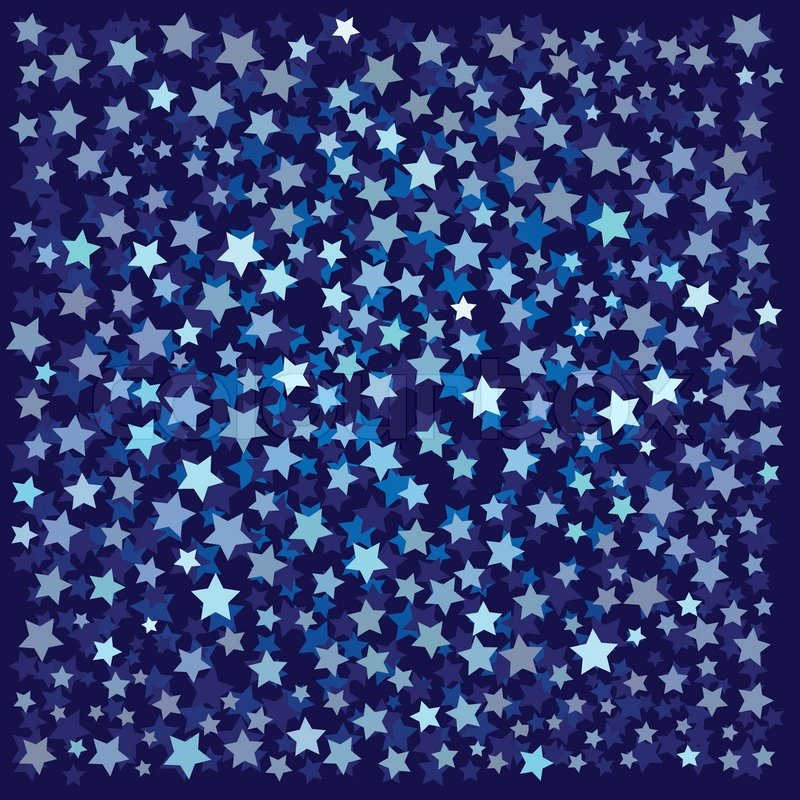 Abstract background with blue stars on a black stock vector abstract background with blue stars on a black stock vector colourbox altavistaventures Choice Image