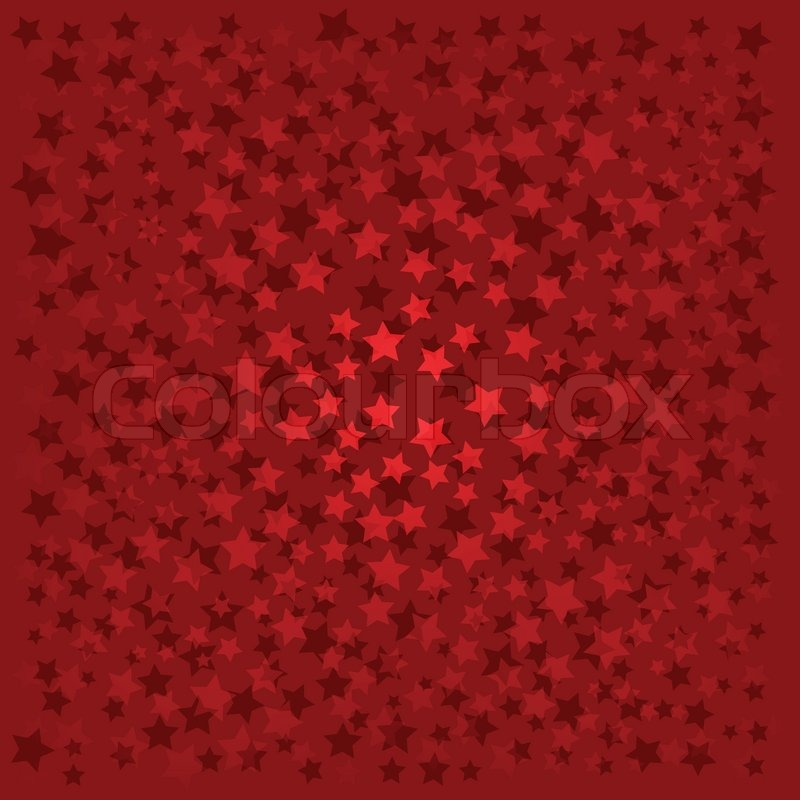 Red Stars Background Abstract backgr...