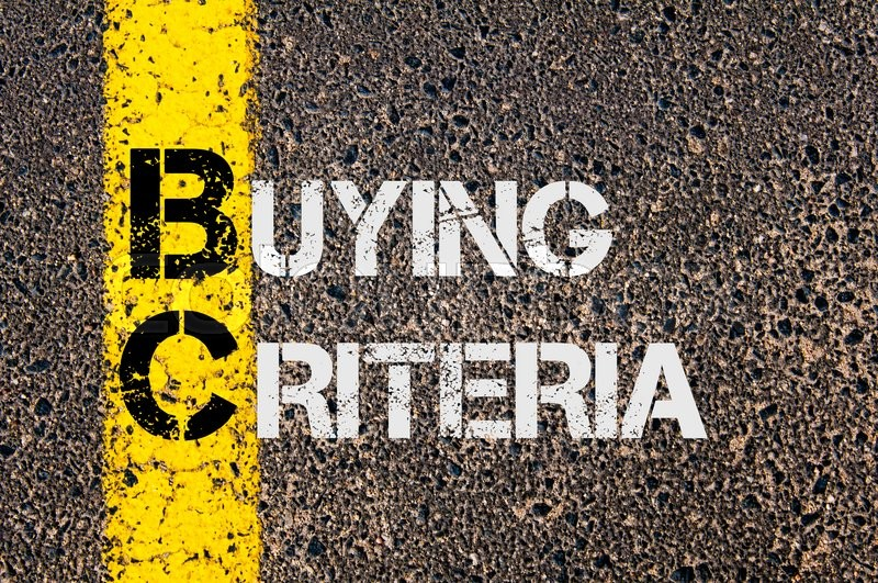 Stock image of 'Concept image of Business Acronym BC as Buying Criteria  written over road marking yellow paint line.'