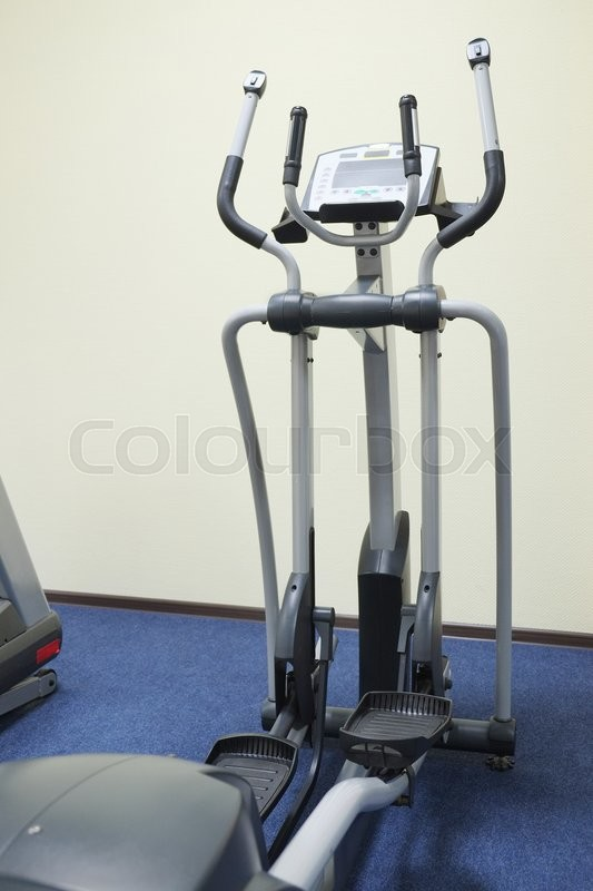 Stock image of 'The image of fitness equipment'