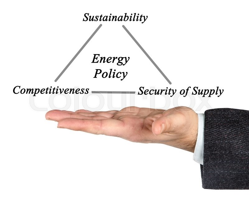 Stock image of 'Energy Policy'