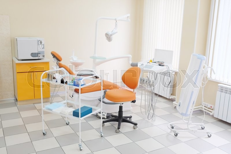 Stock image of 'Interior of a dental clinic '
