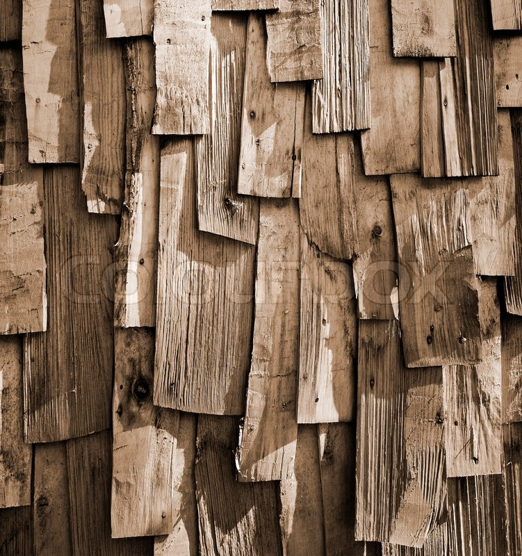 old wood background old wooden planks hewn axe stock photo