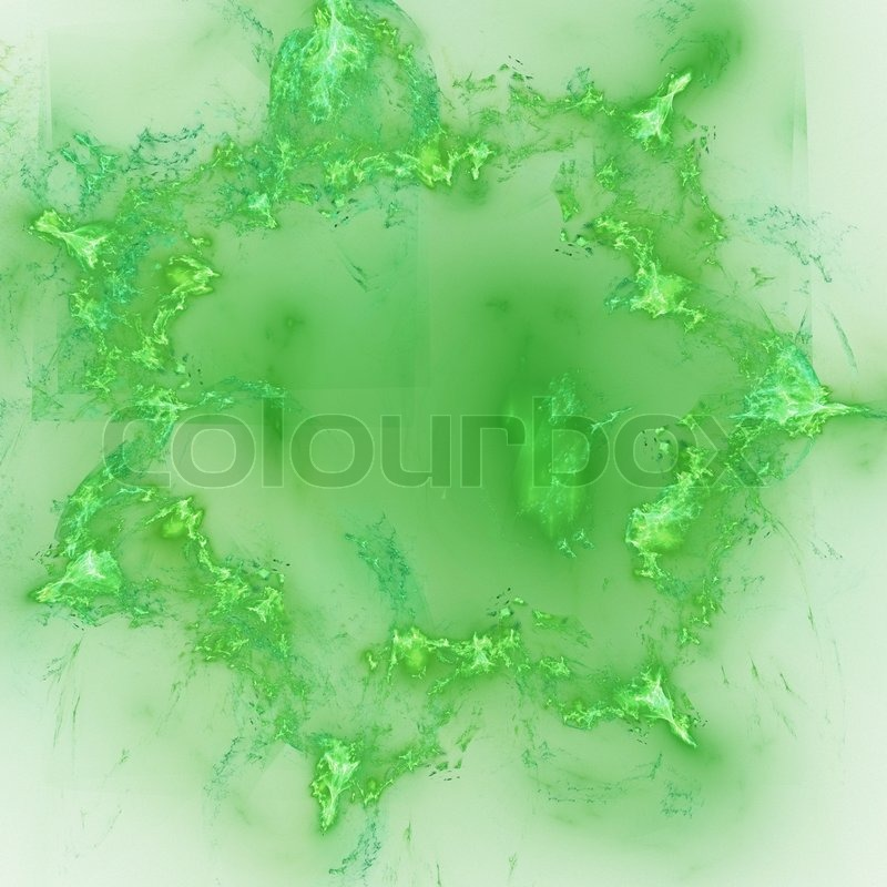 Abstract Background Light Green Abstract Elegance Background Light Green Palette Raster Fractal Graphics