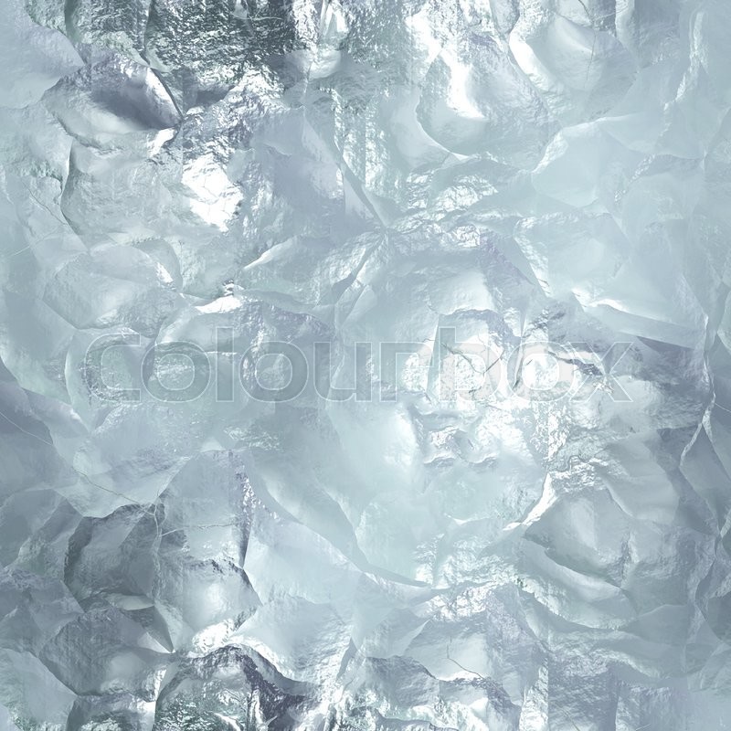 Stock image of 'Seamless tileable ice texture. Frozen water. Abstract realistic patterned winter background. Cold material wallpaper. Digital graphic design.'