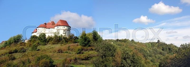 Stock image of 'Veliki Tabor is a medieval castle in the northwest Croatian,14068448