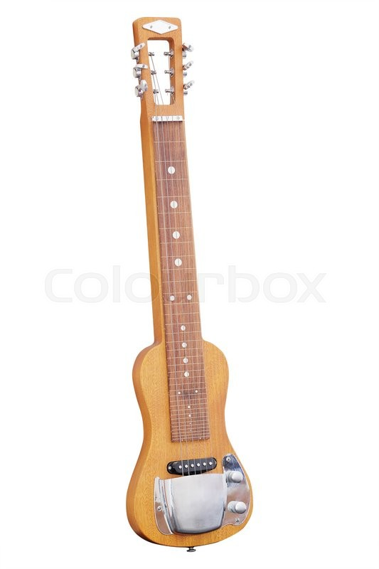 Stock image of 'The image of a guitar'