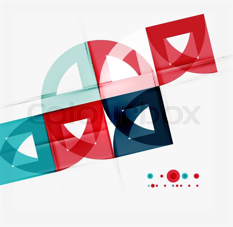 semicircle triangle pattern abstract mosaic background online