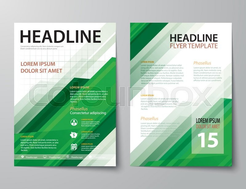 Set of business magazine cover flyer brochure flat design set of business magazine cover flyer brochure flat design templates stock vector colourbox spiritdancerdesigns Image collections