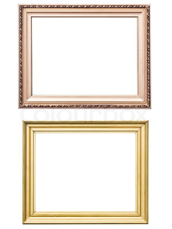Vintage Wooden Picture Frames - Wooden Designs