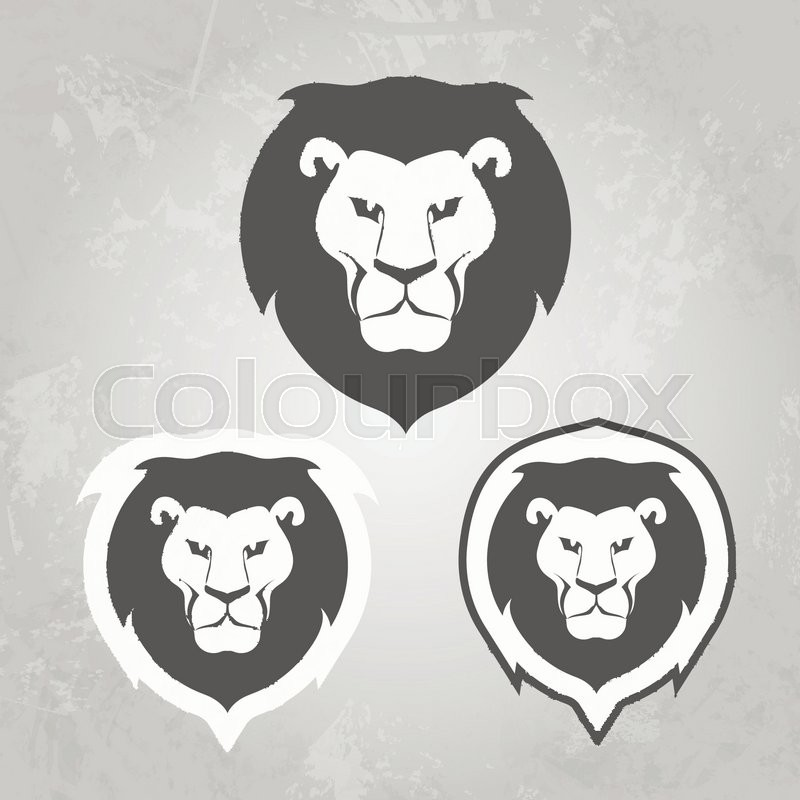 Set Of Lion Logo Templates For Your Business Collection Of Symbols