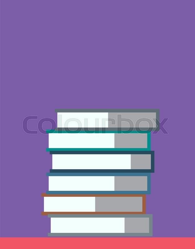 Books On Desk Back To School Education Objects University