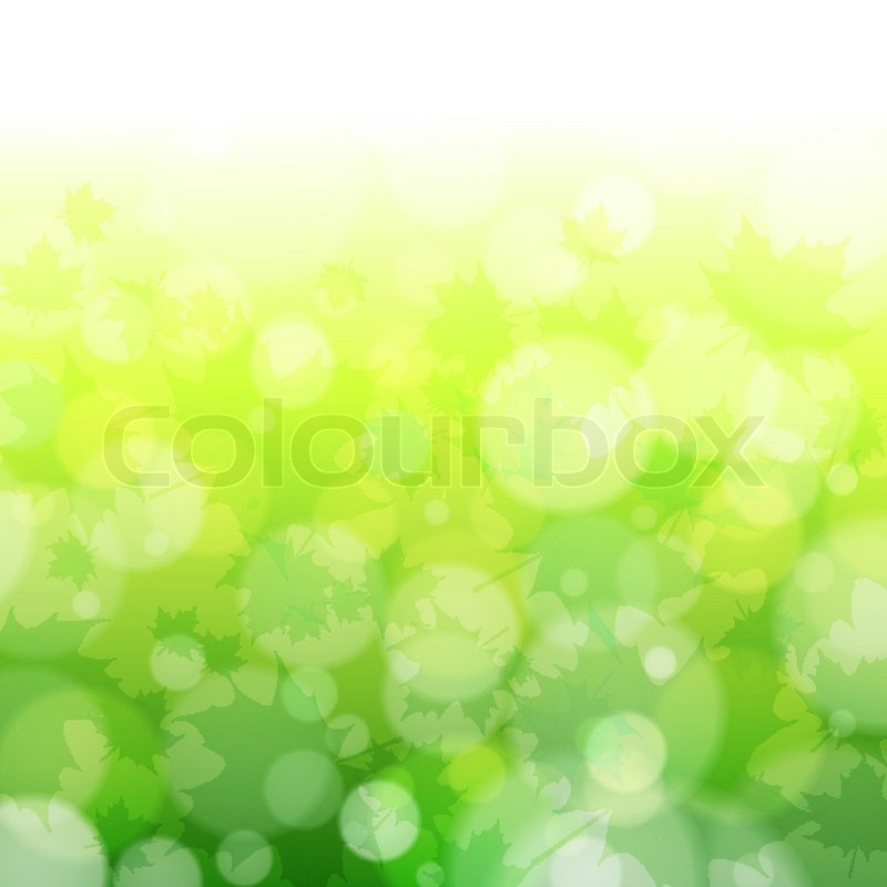 Beautiful spring forest bokeh     | Stock vector | Colourbox