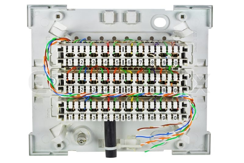 home telephone wiring junction box wiring solutions rh rausco com Residential Telephone Wiring Diagram old telephone junction box wiring