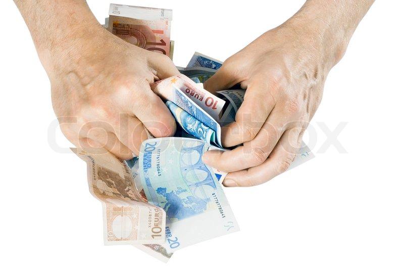 kontanter kvinnor hand jobb