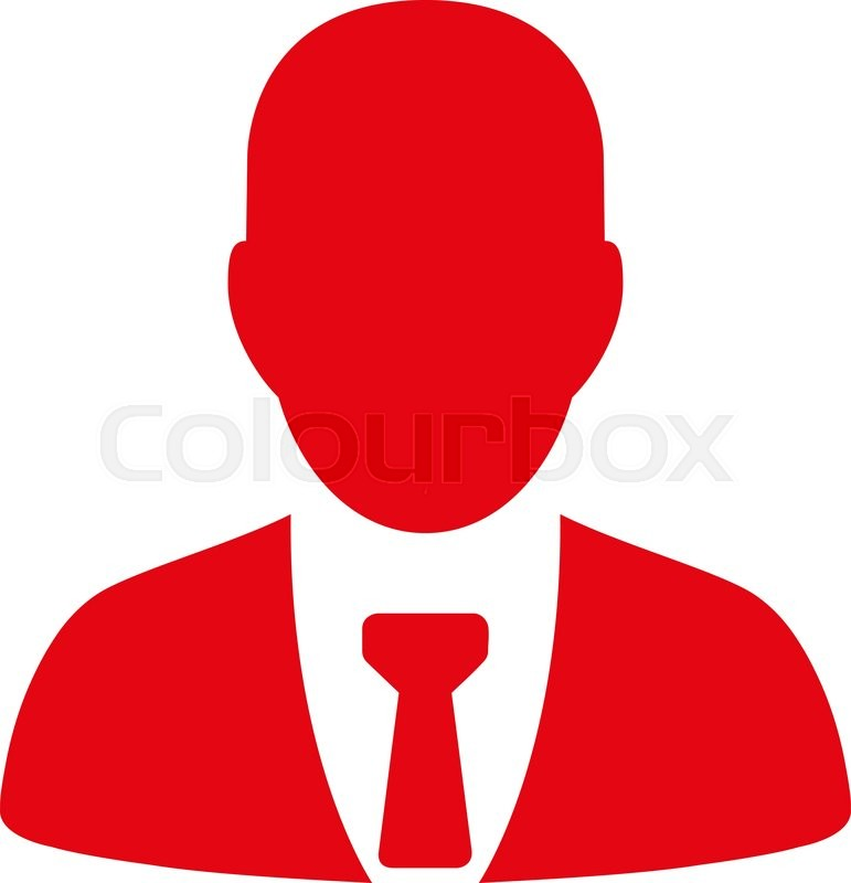 Businessman Icon From Commerce Set Vector Style Flat