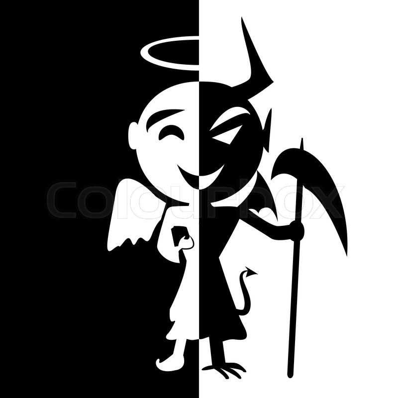 Bipolar Disorderile Of Saint And Satan Angel And Devil In Same