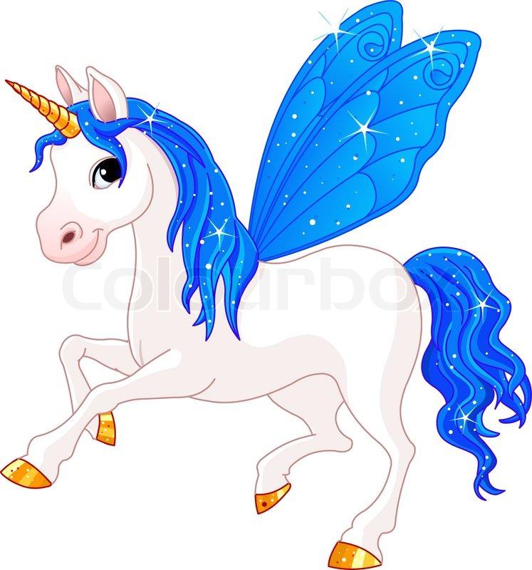 Indigo Cute Winged Horse Of Fairy ...