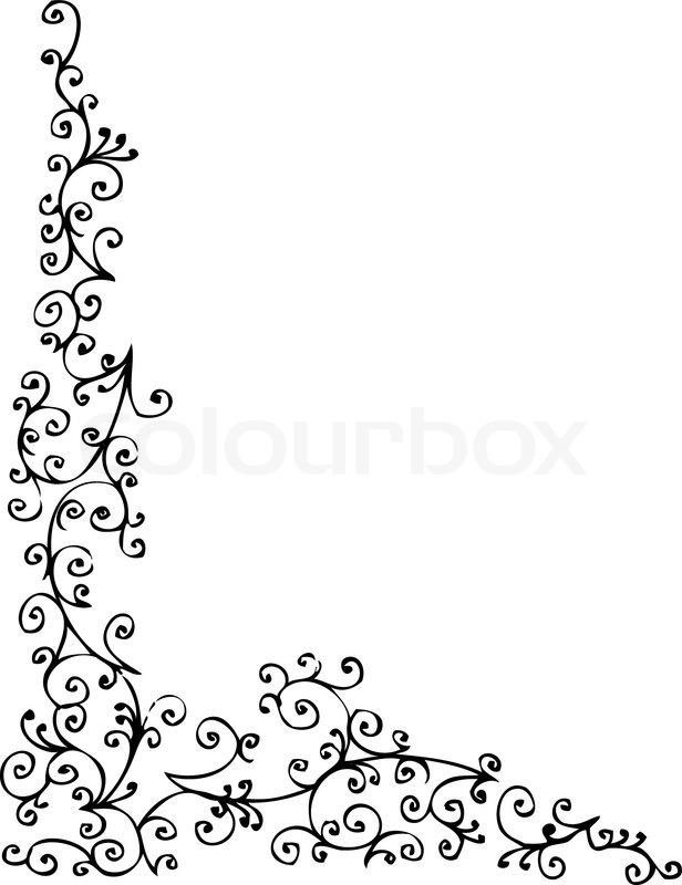 Barocke gefrorenen Vignette 78 Eau-Forte schwarz-weiß dekorative ...