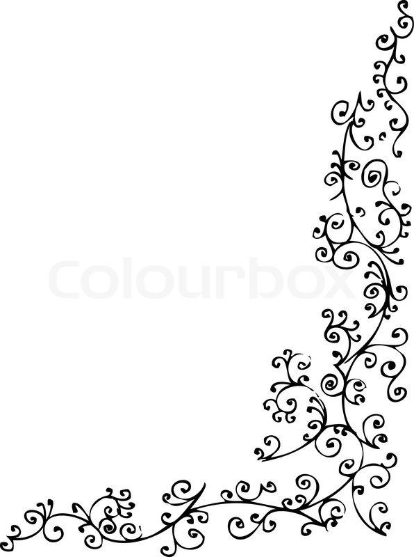barocke gefrorenen vignette 79 eau forte schwarz wei dekorative hintergrundmuster vector. Black Bedroom Furniture Sets. Home Design Ideas