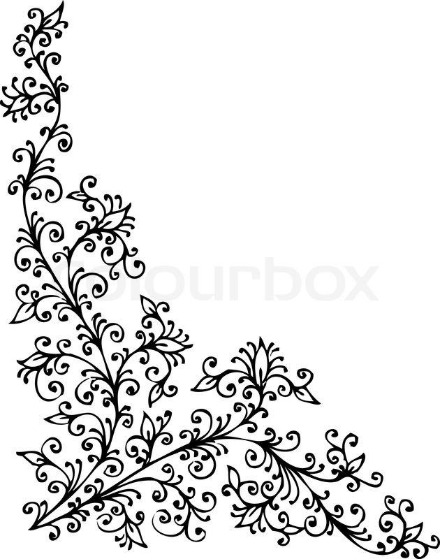 barocke vignette 94 eau forte schwarz wei muster. Black Bedroom Furniture Sets. Home Design Ideas