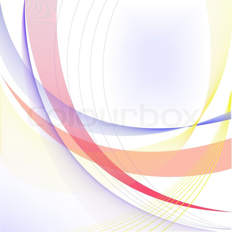 Abstract White Background With Blue ...