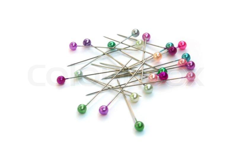 30pcs Round Pearl Head Pins Sewing Dressmaking Pin Various