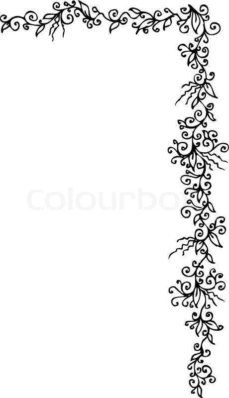 floralen ornament 304 eau forte schwarz wei dekorativen hintergrund muster vektor illustration. Black Bedroom Furniture Sets. Home Design Ideas