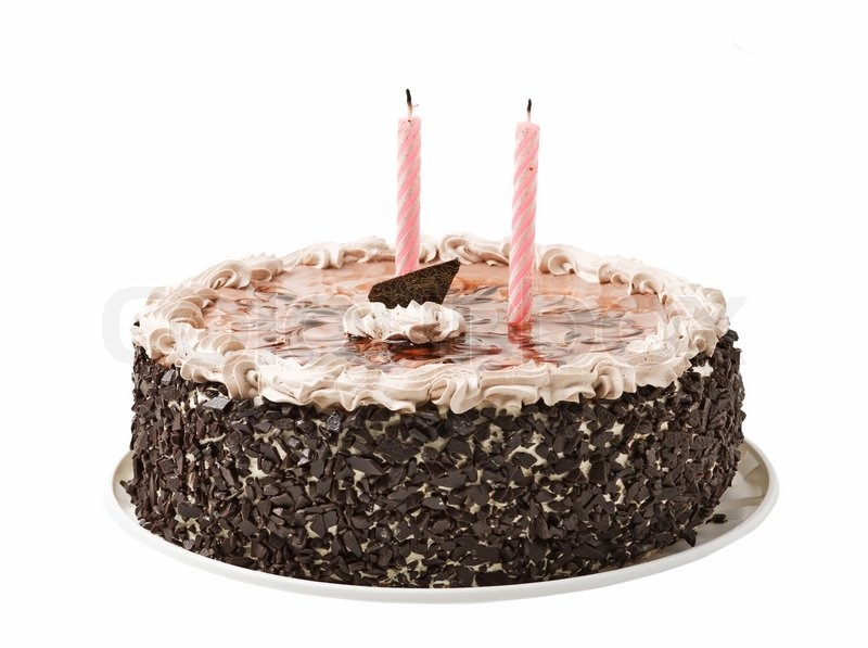 Image result for Birthday cake + two candles + photos + free