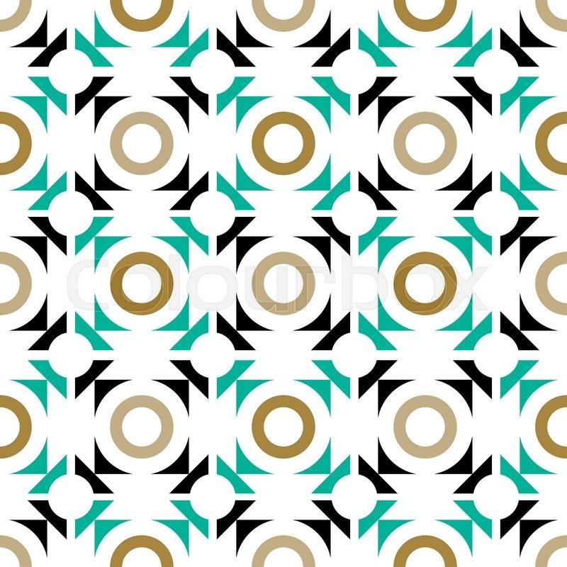 50 Modern Wallpaper Pattern: Pattern With Geometric Shapes, Modern ...