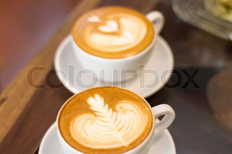 Coffee late Soft Focus, stock photo