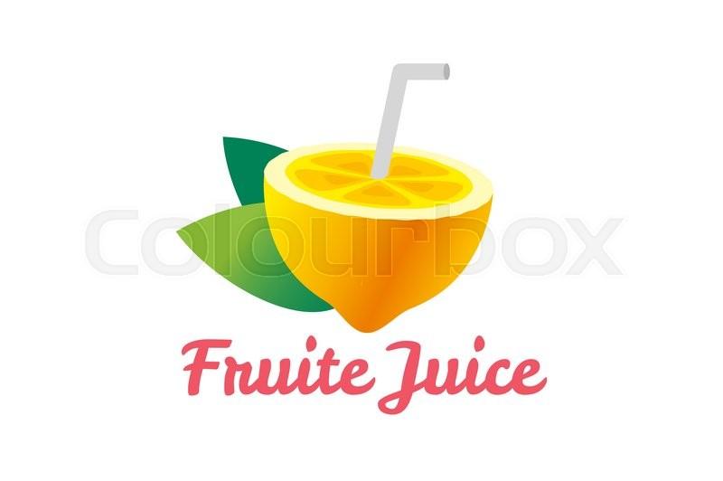 Lime or lemon fruit slice  Lemonade       Stock vector   Colourbox