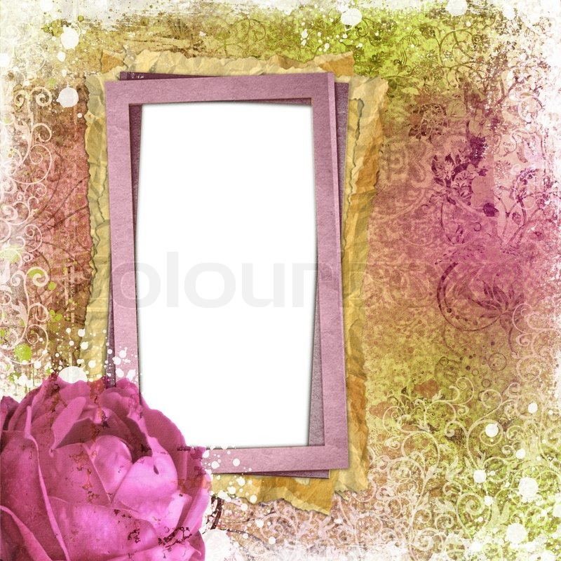 Encantador Pink And Green Picture Frames Componente - Ideas ...