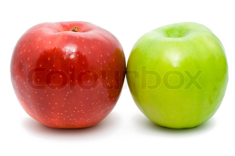 green and red apples. green and red apples n