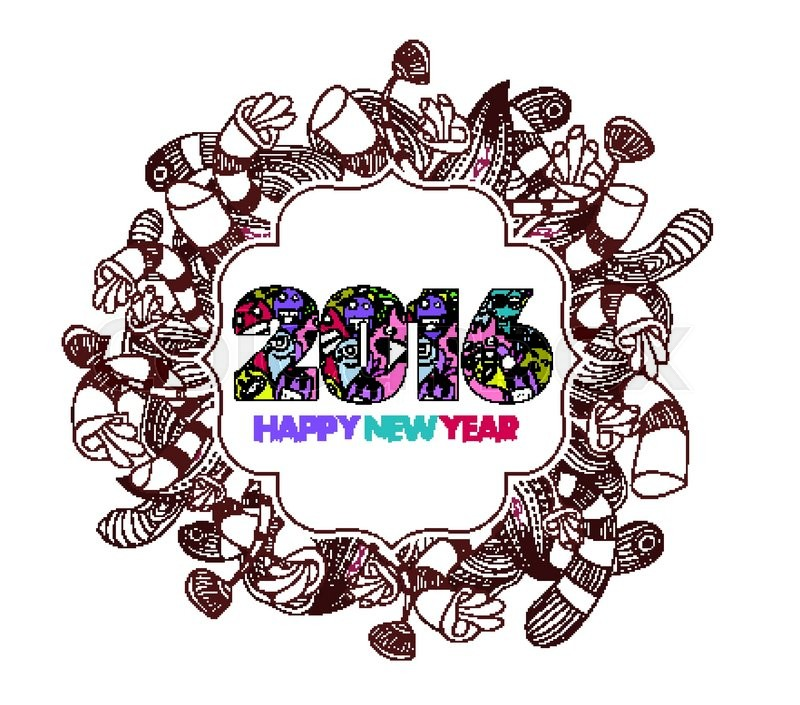 Happy New Year Doodle 91