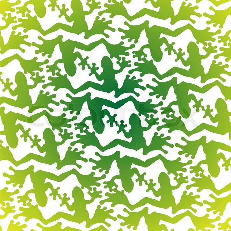 pattern from set of green frogs on a light background stock photo colourbox. Black Bedroom Furniture Sets. Home Design Ideas