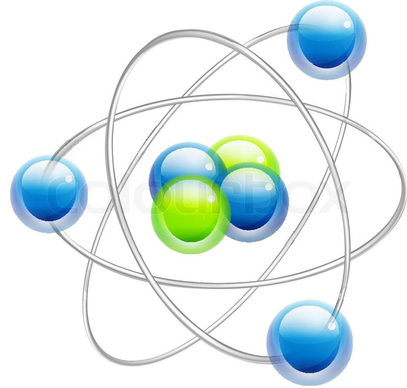 Lithium atom model stock vector colourbox atom symbol vector ccuart Gallery