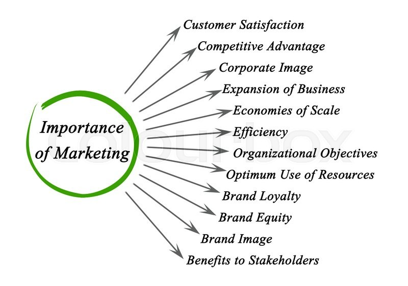 importance of marketing Marketing plays a key role in the sale of most goods and services for instance if a company comes out with a new product nobody in the public will know about it the company will then get the help of marketers, who will use marketing tools to promote the product to the public.
