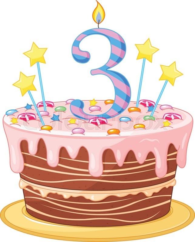 Kuchen Einladung Gru 223 Vektorgrafik Colourbox